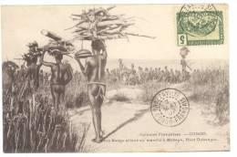 Congo -  Femmes Sango Allant Au Marché à Mobaye - Haut Oubangui- Voyagée En 1908 -. TTB (voir Scan). - Ethniques & Cultures