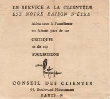 PARIGI / HOLME  -   Ticket _ Biglietto - Non Classificati