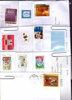 Anni 2011 E 2012 Lotto Storia Postale Tutti Isolati - 6. 1946-.. Repubblica