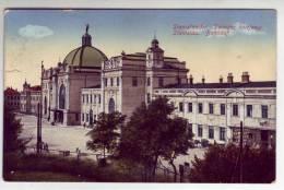 Gmina Stanisławów ,  -   Bahnhof - Pologne
