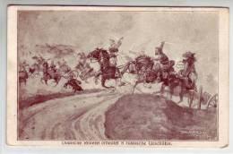 Dt. Reiterei Erbeutet 8 Russische Geschütze - Guerres - Autres