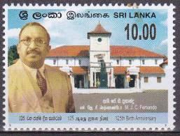 Sri Lanka 2010  Postfris MNH MJC Fernando - Sri Lanka (Ceylon) (1948-...)
