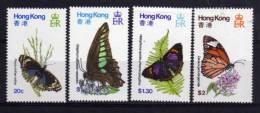 Hong Kong - 1979 - Butterflies - MNH - Hong Kong (...-1997)