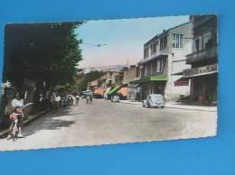 CPSM 13 Format Cpa MARSEILLE ESTAQUE PLAGE Route Nationale (pharmacie Boulangerie) - L'Estaque