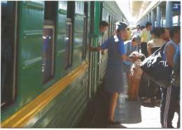TRAIN TRANSIBERIEN 200 SBB Reisebüros Moscou Vladivostok Hôtesse CFF FFS - Trains