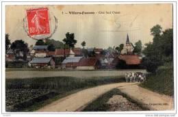 Villers Faucon Attelage Coté Sud Ouest 1907 Bon état - Sonstige Gemeinden