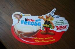Kinder Surprise = Pah :  Astérix = Allemagne - Non Classificati