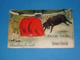 CPA 63 CLERMONT FERRAND Carte A Systeme Depliant Multivues Editions G Artaud (Corrida) - Clermont Ferrand