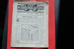 THE MARCONIGRAH - N°3 June 1911 - Very Rare - Communication Revue - Revues & Journaux