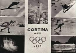 CORTINA -BELLUNO- OLIMPIADE 1956 -VEDUTINE -FG - Belluno