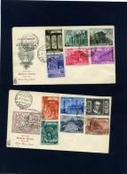 Vaticano - Fdc Venetia 1949 - Basiliche Romane - FDC