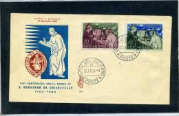 Vaticano - Fdc Venetia 1953 - San Bernardo Da Chiaravalle - FDC