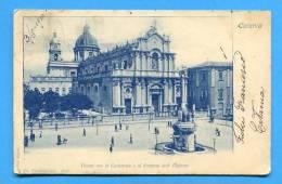 1900. CATANIA  Early Postcard .ITALIA. SICILIA - Catania