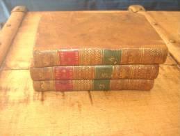 Histoire De Gil Blas De Santillane - LESAGE 3 Volumes 1823 - Livres, BD, Revues