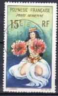 """POLYNESIE -  1964: Poste Aérienne """"Danseuse Tahitienne"""" (N° PA 7 Obl) - Poste Aérienne"""