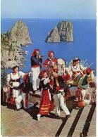 CAPRI LA TARANTELLA CAPRESE SCIALAPOPOLO 1957 - Napoli (Naples)