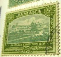 Jamaica 1919 Jamaica Exhibition 1891 0.5d - Used - Jamaïque (...-1961)