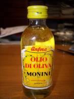 Olio Di Oliva Monini - Anfora: Bottiglia Mignon Tappo Metallo. Spoleto (contenuto 1/10 Litro) - Autres Bouteilles