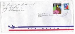TZ819 - REPUBLICA DOMINICANA , Lettera Commerciale Per L'Italia Del 1980 - Repubblica Domenicana