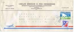 TZ820 - REPUBLICA DOMINICANA , Lettera Commerciale Per L'Italia Del 1980 - Repubblica Domenicana