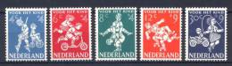Olanda 1958 Unif. 696/700 **/MNH VF - Period 1949-1980 (Juliana)
