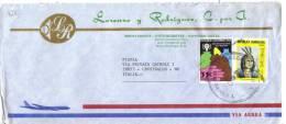 TZ821 - REPUBLICA DOMINICANA , Lettera Commerciale Per L'Italia Del 1979 - Repubblica Domenicana
