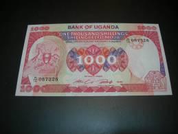 Uganda.   1000 Shillings.  1986.  UNC - Uganda