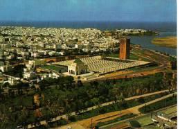 Maroc  TYPIQUE - RABAT - Le Mausolée Mohamed V - Vue Aérienne - Rabat