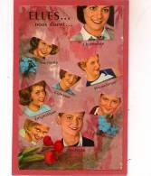 12 / 9 / 39  -  Elles . . .  Nous Disent  -cpsm - Femmes
