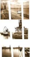 Gent : Havenzichten - Lossen En Laden Van Schepen ---- 6 Foto's - Gent