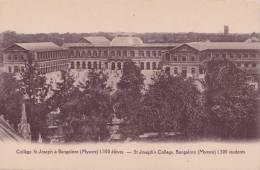 Inde -  Collège St Joseph à Bangalore  (Mysore) 1.300 élèves - India