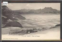 DISTRICT D'AIGLE /// LEYSIN - MER DE BROUILLARD  - TB - VD Vaud