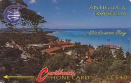 Antigua, ANT-3C, Dickenson Bay, 2 Scans.   3CATC . - Antigua And Barbuda