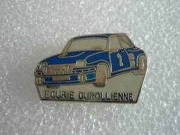 PIN´S  RENAULT TOURBO 2  ECOURIE  DUROLLIENNE - Rallye