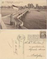 Blankenberghe La Digue Vue Du Pier / Den Zeedijk Van De Pier Gezien Used - Blankenberge