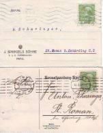 900q: Böhmische Und Bosnische Pflaumen, Alte Correspondenzkarten Öst. Aus 1914 - Ernährung