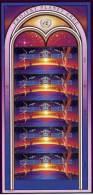 ONU Vienna 1992 Unif. 133/34 Minifoglio **/MNH VF - Sin Clasificación