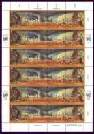 ONU Vienna 1993 Unif. 156/59 Minifoglio **/MNH VF - Sin Clasificación