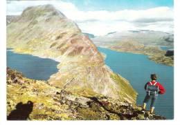 Norway - Norge - Jotunheimen - Besseggen Med Bessvann Og Gjende - Norwegen