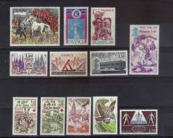 Timbres Neuf **  De 1978  N°2016 A 2027 - Unused Stamps