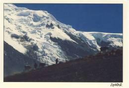Berge Von ( Mountains From ) ECUADOR - Lawinenhang - Format 12x17, Nice Stamp - Equateur
