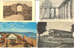 Lotto Di 62 Cartoline Di Pesto Paestum - Other Cities
