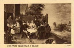 La Tisane Cisby - Art - Peinture - L´enfant Prodigue à Table - Teniers - Cépia - Autres