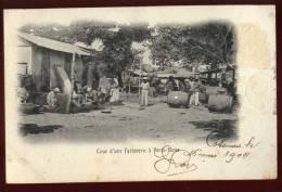 Cpa Du Dahomey Cour D'une Factorerie à Porto Novo  RAM2 - Dahomey