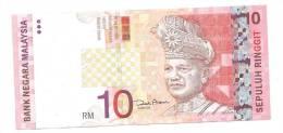 Malaysia 10 Ringgit 2004 VF++ Banknote P-46 - Malasia