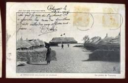 Cpa Du  Soudan Territoire Militaire , La Poste De Tahoua    RAM2 - Sudan