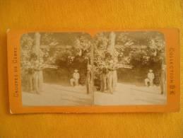 Photo Stereoscopique - Le Fusiller - Stereoscopic