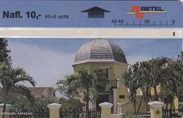 Curacao, CUR 04c, Octagon - 607A, 2 Scans. - Antilles (Netherlands)