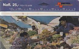 Curacao, CUR 05?, Floating Market - 601M, 2 Scans. - Antilles (Netherlands)