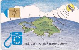 Saint Marteen, STM C1B, 60 Units, Island & Satellite, 2 Scans. - Antilles (Netherlands)